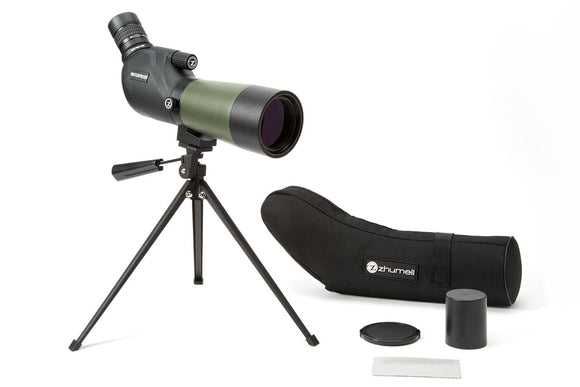 Zhumell 15-45x60 Angled Spotting Scope