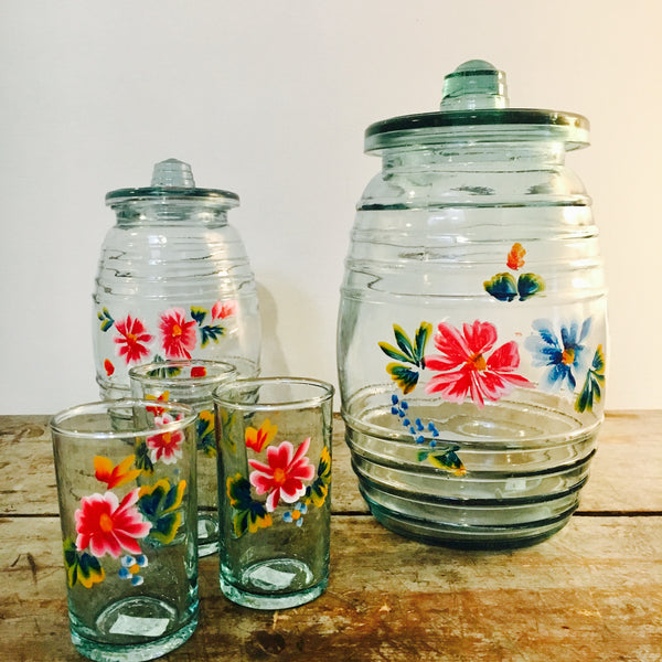 Hand Painted Jars from Mexico