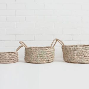 Round Open Weave Baskets