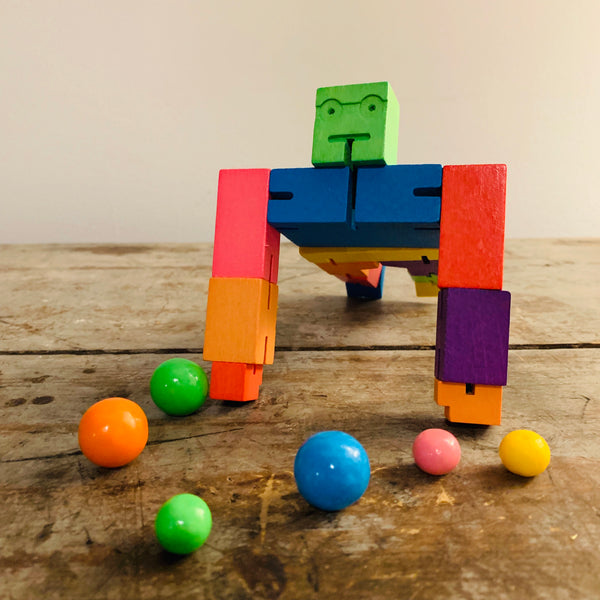 Cubebot Multi Color