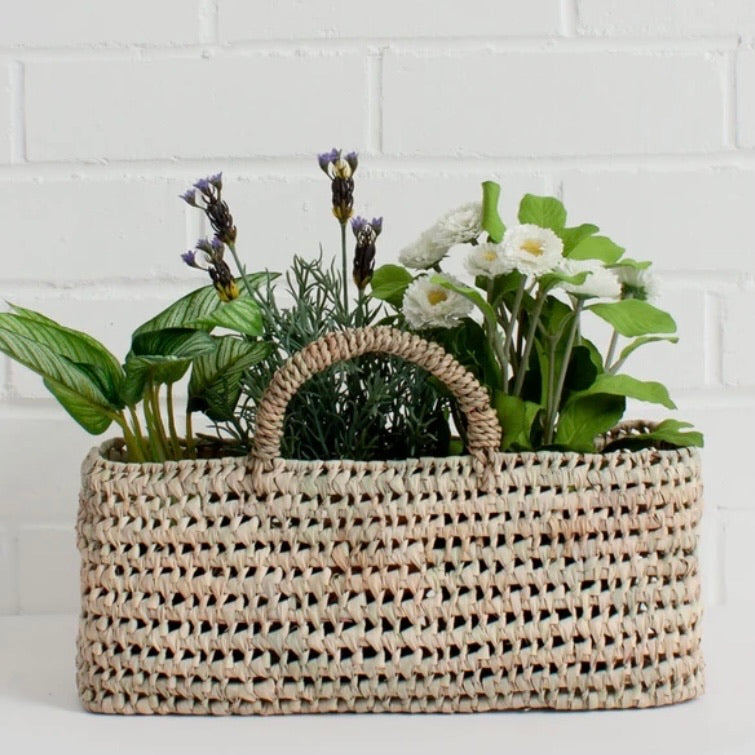 Long Open Weave Basket
