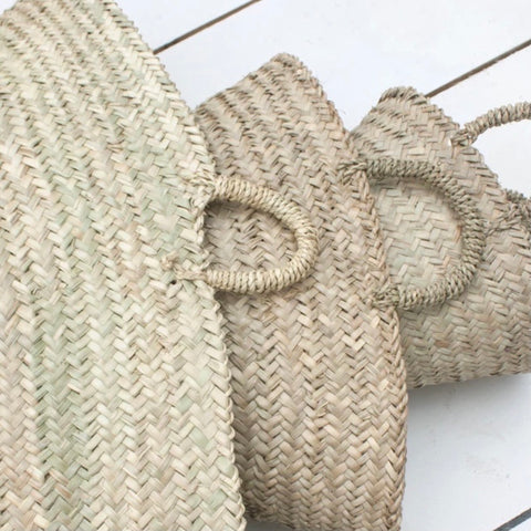 Palm Leaf Beldi Baskets