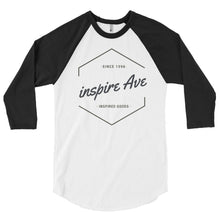 Inspired Goods 3/4 sleeve raglan shirt