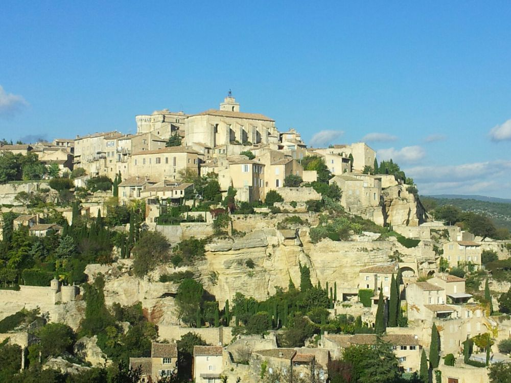 Town of Gordes in Provence France