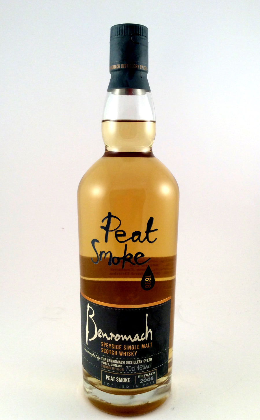 Benromach 'Peat Smoke' Speyside Single Malt Whisky 2008-Spirits-Wineseeker