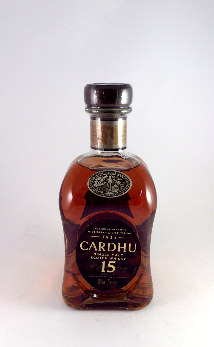 Cardhu 15 year Scotch Whisky