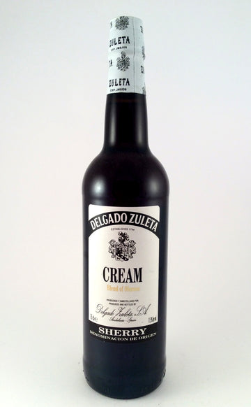 Delgado Zuleta Cream Blend of Oloroso Sherry-Wineseeker