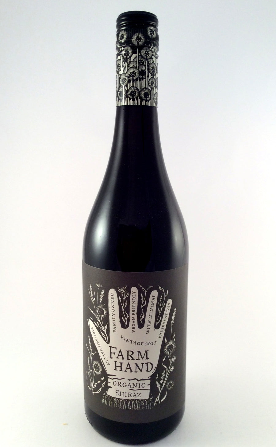 Farm Hand Organic Shiraz-Wine-Wineseeker