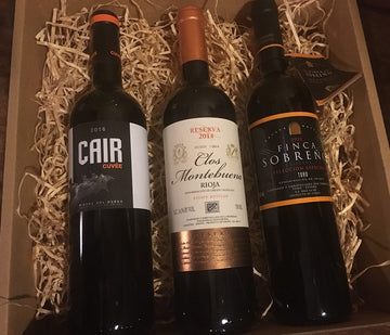 Tempranillo Gift Pack - from 3 regions of Spain