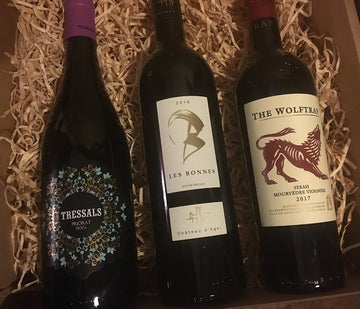 Unusual Red Blend Gift Pack - compare French, Spanish, and South African
