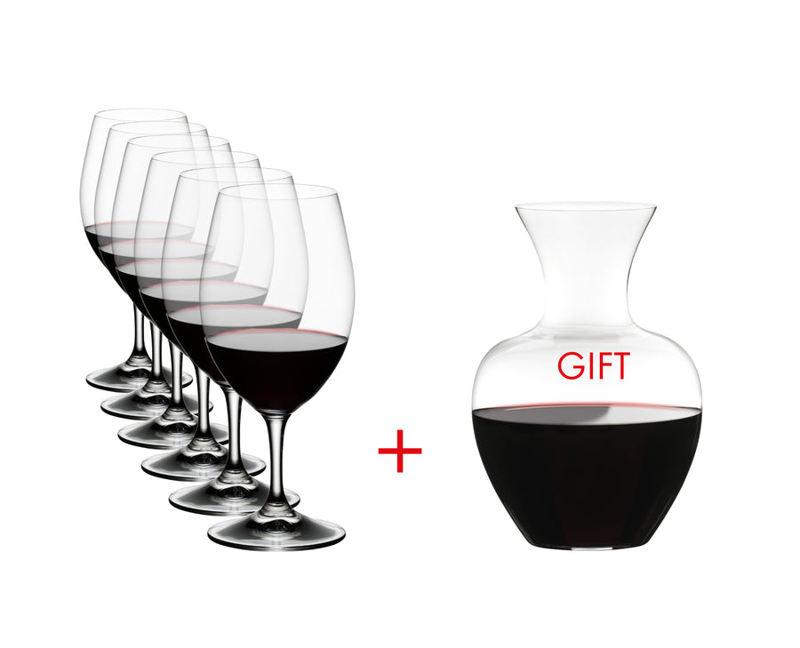 Riedel Ouverture Magnum + Decanter Pack-Glassware & Accessories-Wineseeker