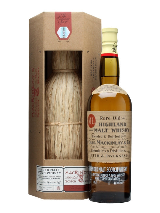 Mackinlays Shackleton Blended Malt Whisky-Wineseeker