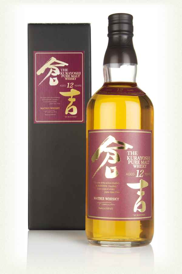 Kurayoshi 12 Year Whisky