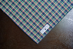 Dog Bandana/ Flannel Print Dog Bandana/ Tartan Dog Bandana/ Dog Clothes/ Dog Scarf/ Dog Bandana Collar/ Puppy Bandana/ Dog Accessories