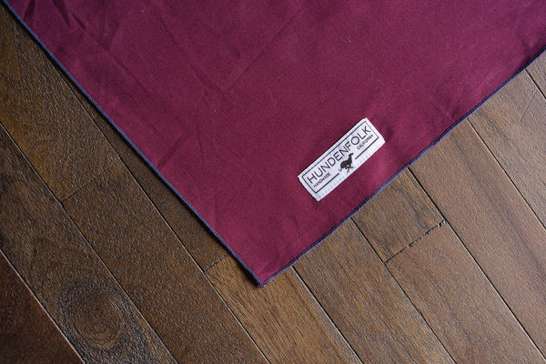 Burgundy Dog Bandana