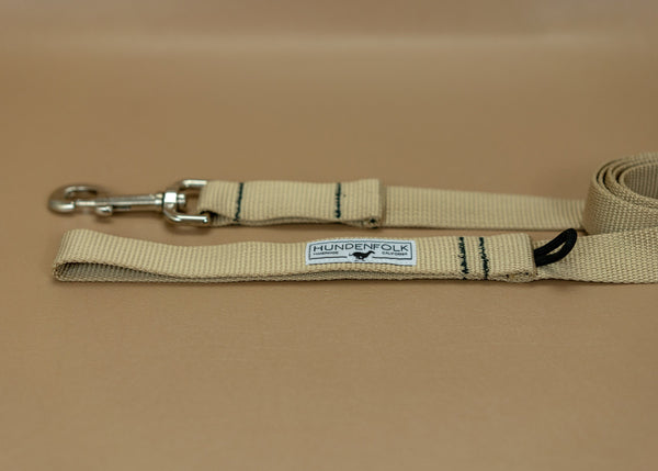 Dog Leash- Khaki