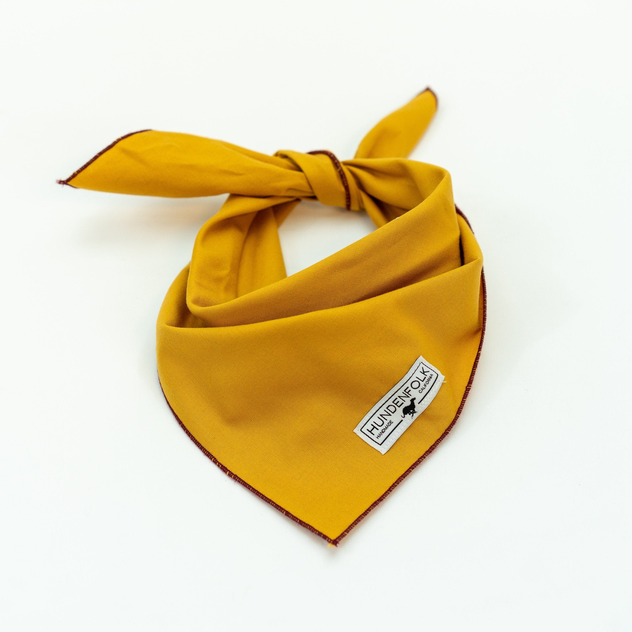 Deep Yellow Bandana