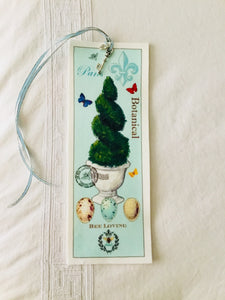 Topiary Velvet Book Mark