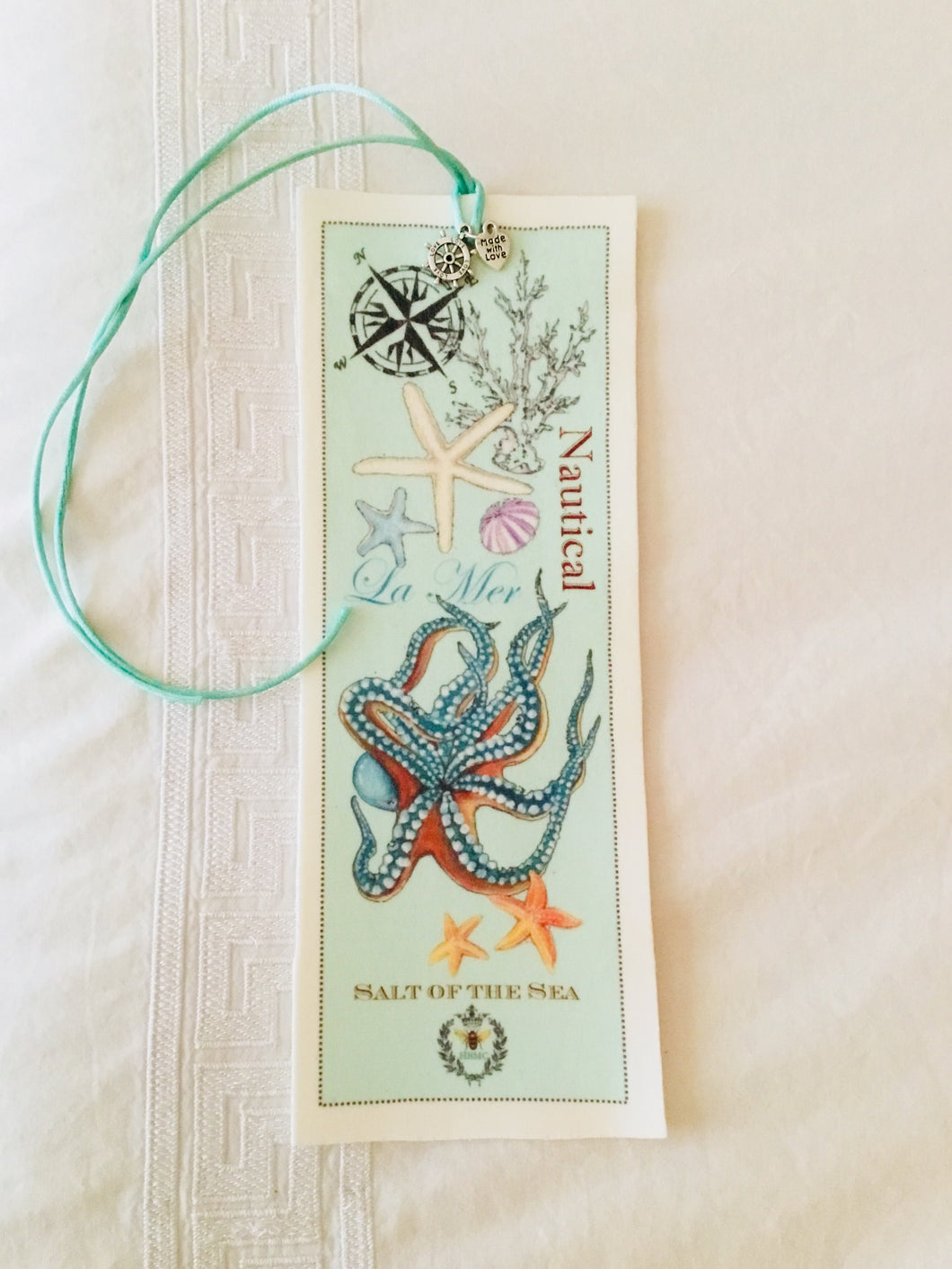 Octopus Velvet Book Mark