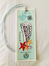 Cowry Shell Velvet Book Mark