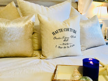 Haute Couture Paris Pillow Case