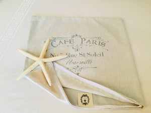 Cafe Paris Pillow Case