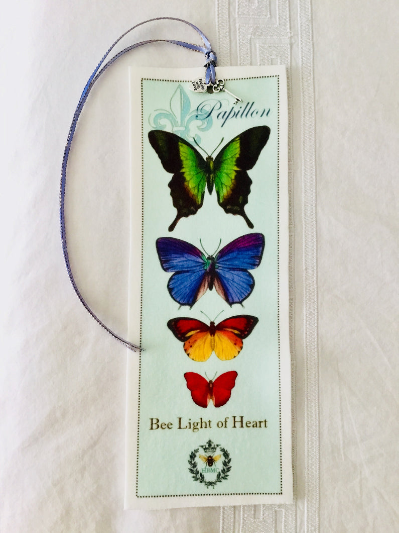 Butterfly Velvet Book Mark