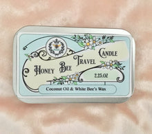 Honey Bee Travel Candle