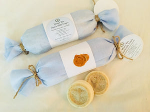 Honey Bee Goats Milk Soap (Set of Three)