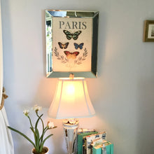 Paris Mixed Butterfly Linen Art