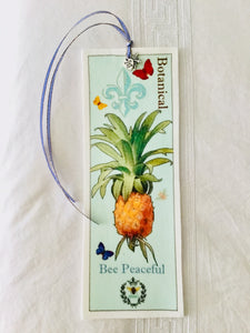 Pineapple Velvet Book Mark