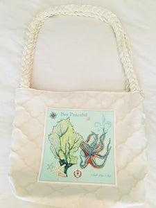Octopus & Coral Book Tote