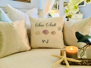 Sea Urchin Nautical Pillow Case