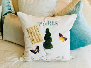 Topiary II. Pillow Case