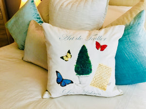 Topiary IV. Pillow Case