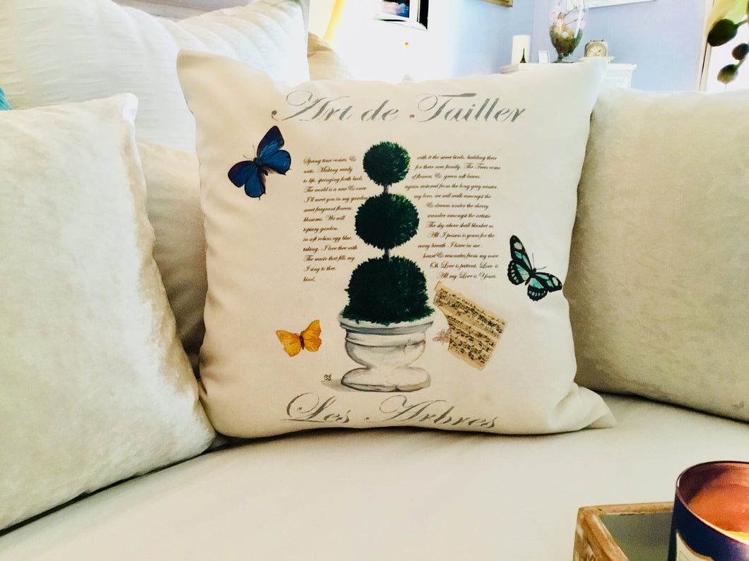Topiary I. Pillow Case