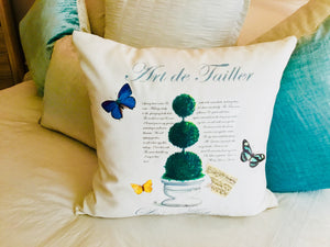 Topiary I. Pillow