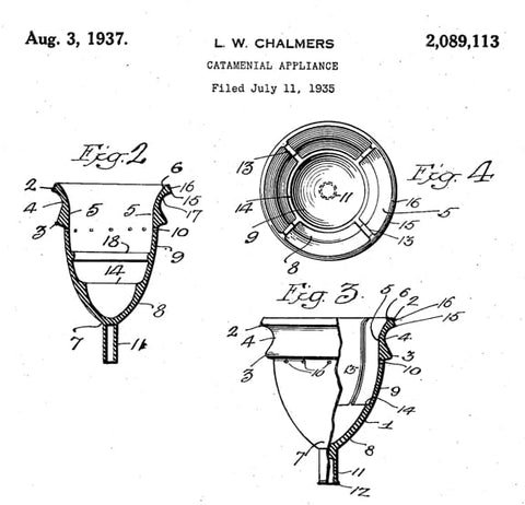 Chalmers menstrual cup