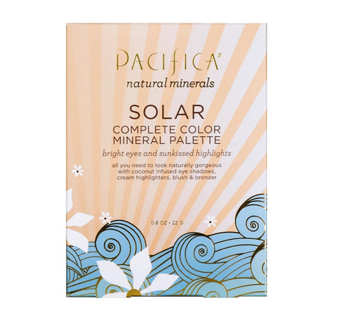Pacifica mineral palette