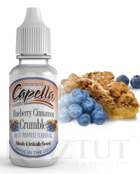 Blueberry Cinnamon Crumble Flavor - CAP
