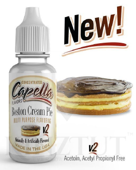 Boston Cream Pie v2 Flavor - CAP