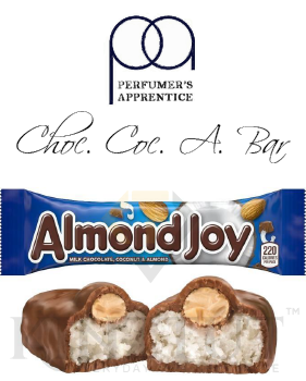 Chocolate Coconut Almond Candy Bar Flavor - TPA/TFA