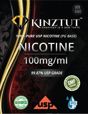 Nicotine 100mg/ml Pure USP Grade (10% in PG Base)