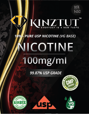 Nicotine 100mg/ml Pure USP Grade (10% in VG Base)
