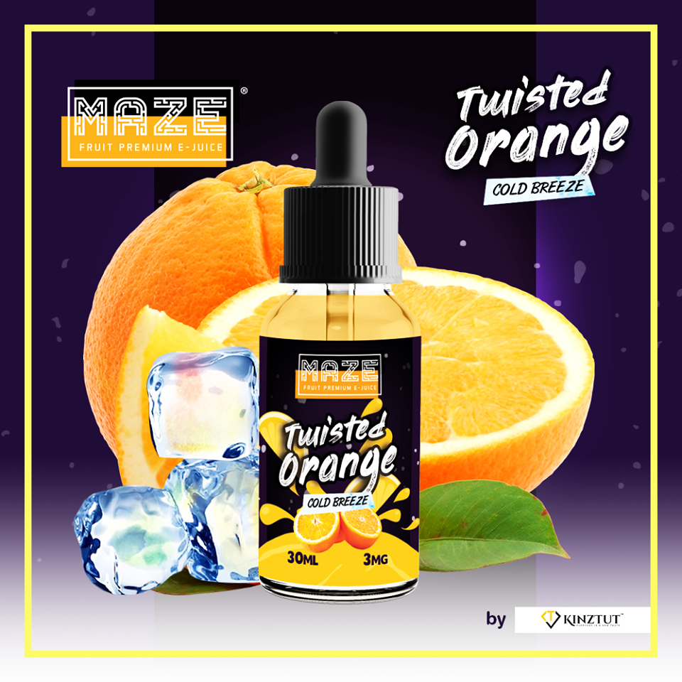 Twisted Orange E-Liquid by Maze
