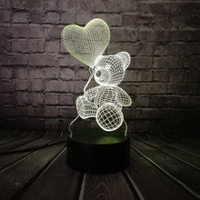 Valentines LED Teddy Bear