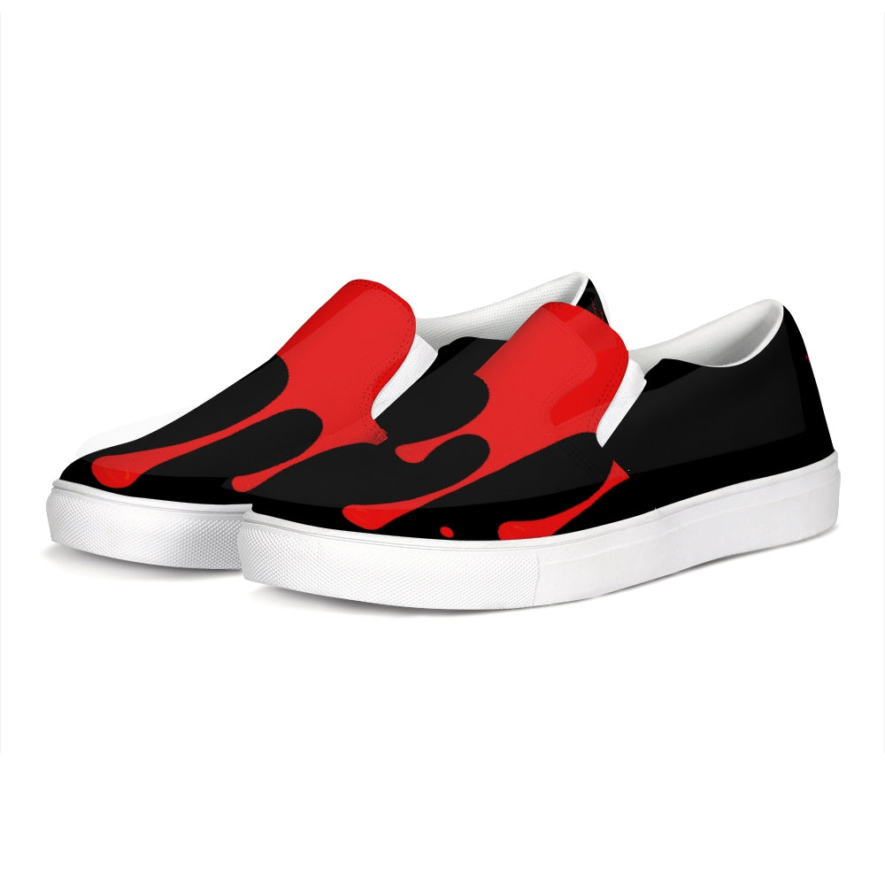 Tainted Heart Slip-On Canvas Shoe