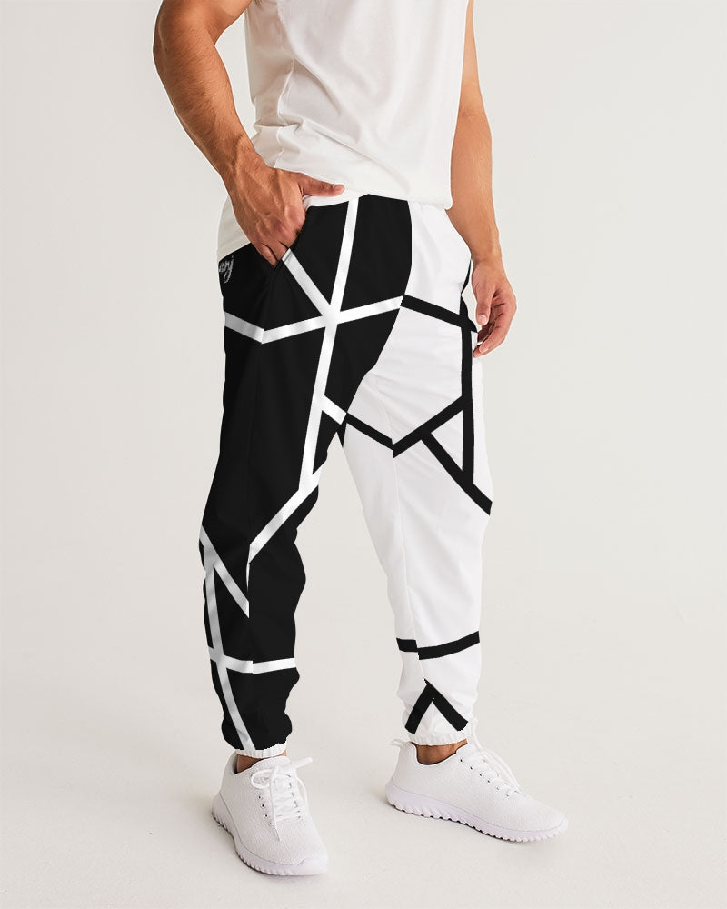 Black/White Unisex Track Pants