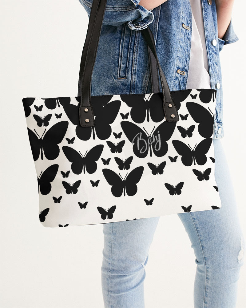 Black Butterfly Stylish Tote
