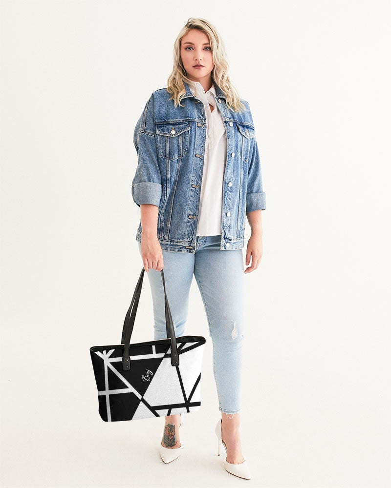 Black/White Stylish Tote